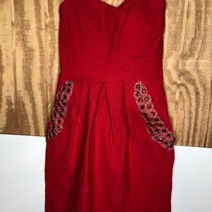 B Darlin pink. Dress size 7/8